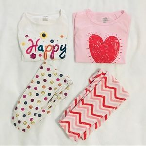 5/$50+FS [4T] Gymboree Girls' Pyjamas